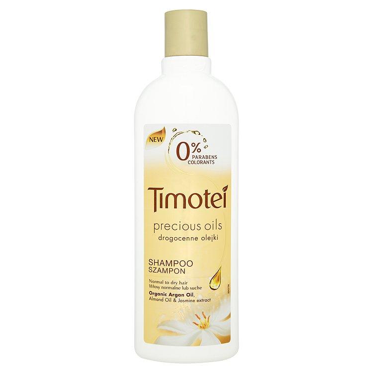 Timotei Precious Oil šampon pro normální až suché vlasy 400 ml