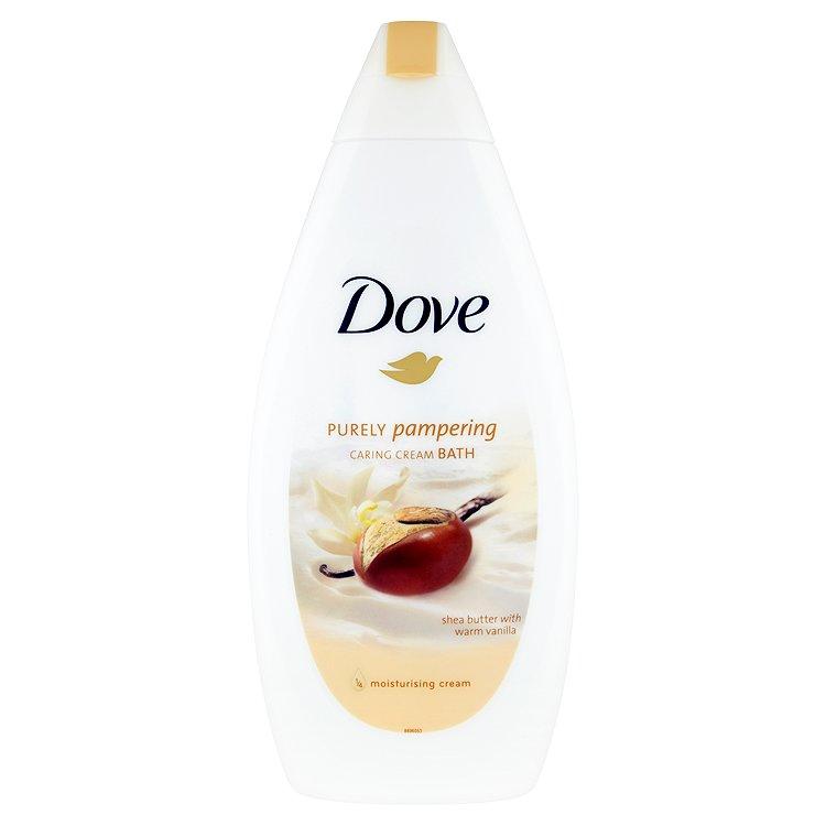 Fotografie Dove Purely pampering krémová pěna do koupele 500 ml