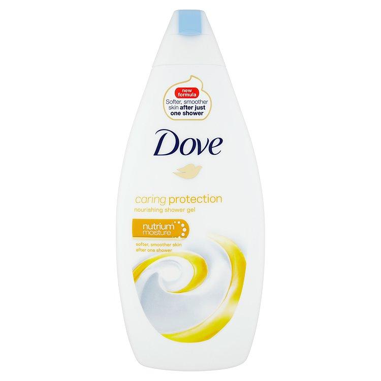 Dove Caring Protection vyživující sprchový gel 500 ml