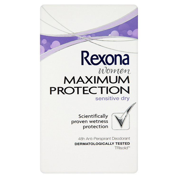 Rexona Maximum Protection Sensitive antiperspirační krém 45 ml