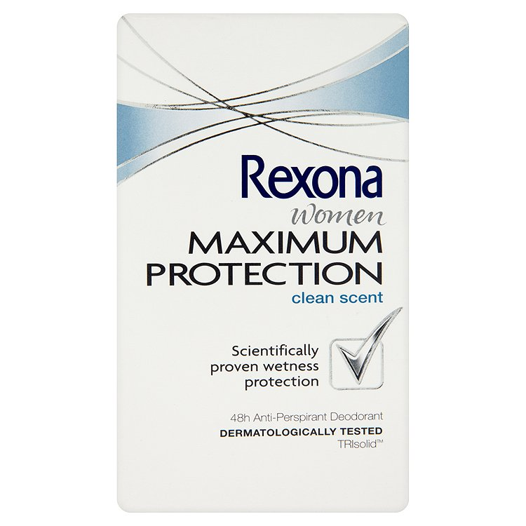 Rexona Maximum Protection Clean Scent antiperspirační krém 45 ml