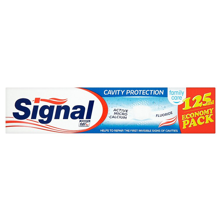 Fotografie Signal Family Care Cavity protection zubní pasta 125 ml