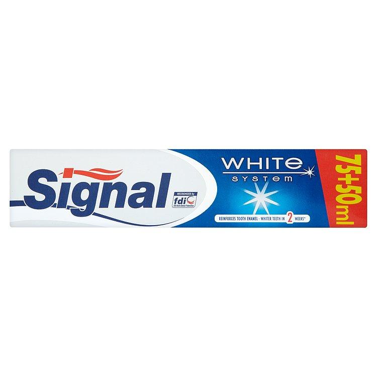 Fotografie Signal White System Zubní pasta 125 ml