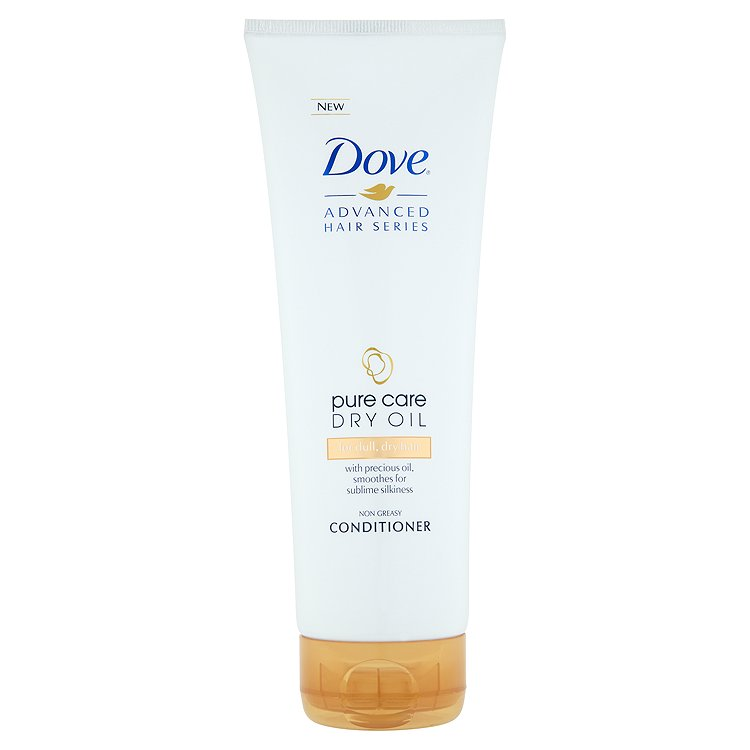 Dove Pure Care Dry Oil kondicionér 250 ml