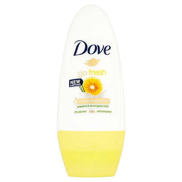 Dove Go Fresh Kuličkový Antiperspirant Grapefruit&Vůně Citronové Trávy 50 ml