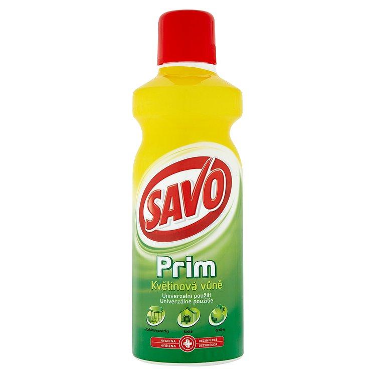 Fotografie Savo Prim dezinfekční prostředek s květinovou vůní 1000 ml