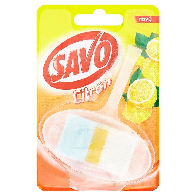 Savo tuhý WC blok, citrón 35 g