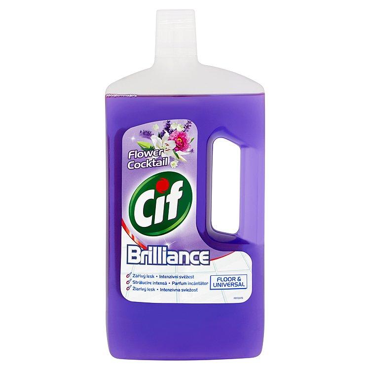 Cif Brilliance univerzální čisticí přípravek, Flower cocktail 1000 ml