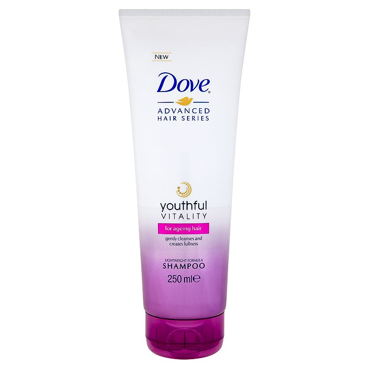 Fotografie Dove Advanced Hair Series Šampon pro věkem unavené vlasy 250 ml
