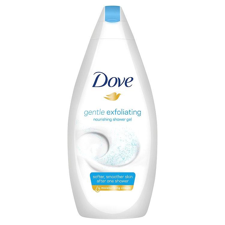 Dove Gentle Exfoliating vyživující sprchový gel 500 ml