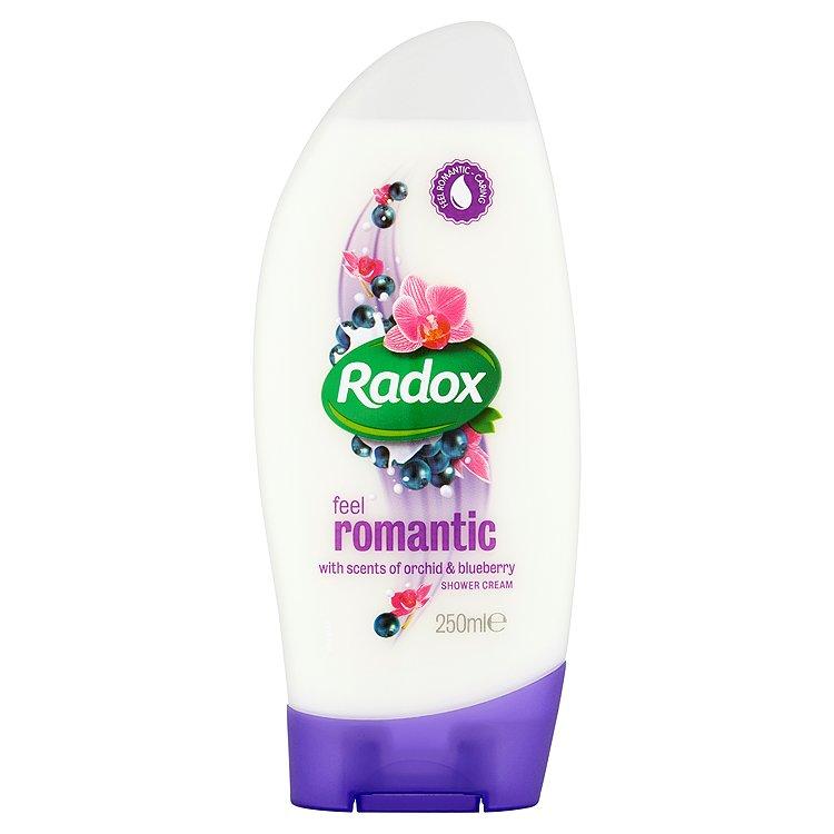 Fotografie Radox Feel romantic krémový sprchový gel 250 ml