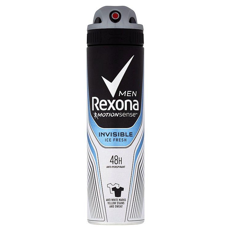 Rexona Invisible Ice antiperspirant sprej pro muže 150 ml