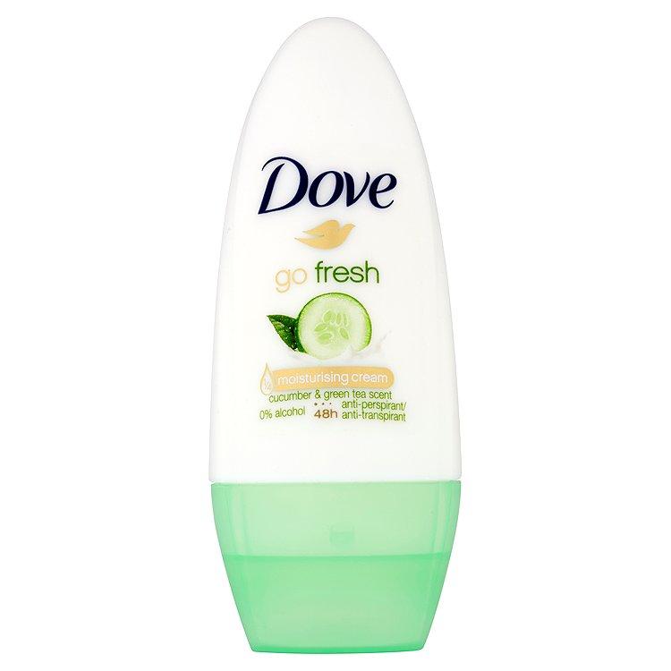 Dove Go Fresh Kuličkový Antiperspirant s vůní Okurky&Zeleného čaje 50 ml