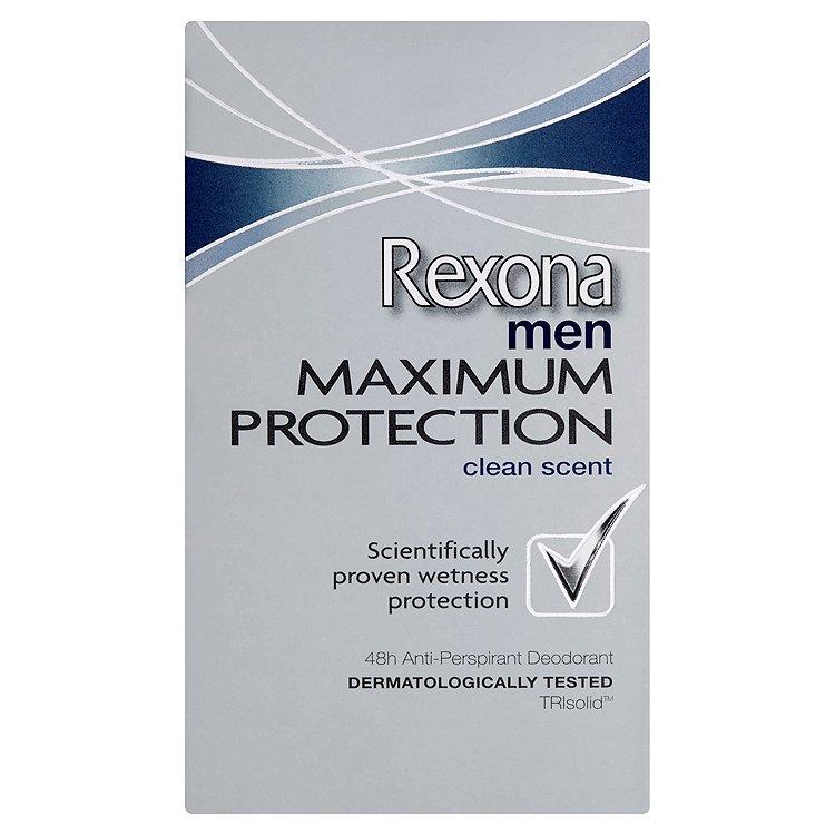 Rexona Maximum Protection Clean Scent antiperspirační krém pro muže 45 ml