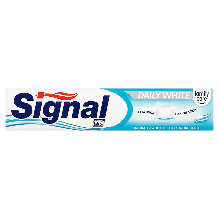 Fotografie Signal Family Care Daily white zubní pasta 75 ml