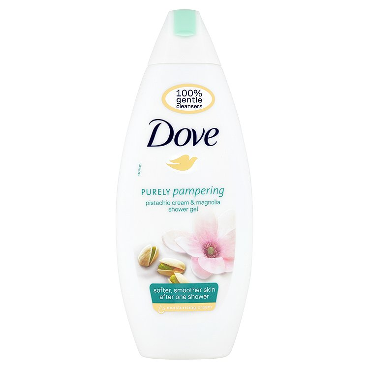 Dove Purely Pampering vyživující sprchový gel Pistácie&Magnólie 250 ml