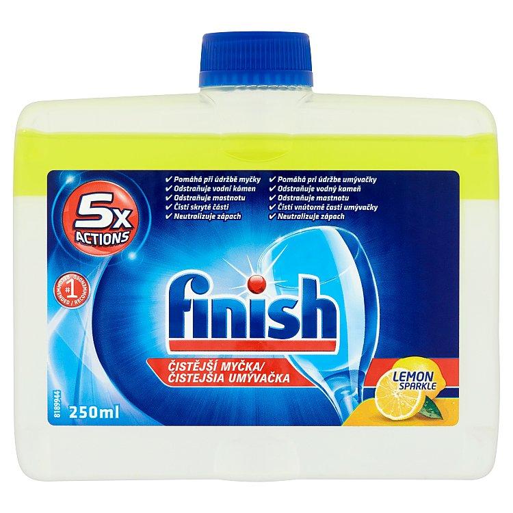 Fotografie Finish citrón čistič myčky nádobí 250 ml