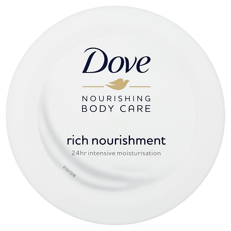 Fotografie Dove Rich nourishment tělový krém 150ml
