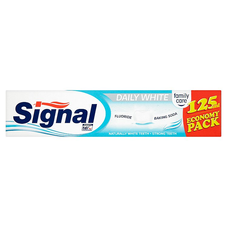 Fotografie Signal Family Care Daily white zubní pasta 125 ml