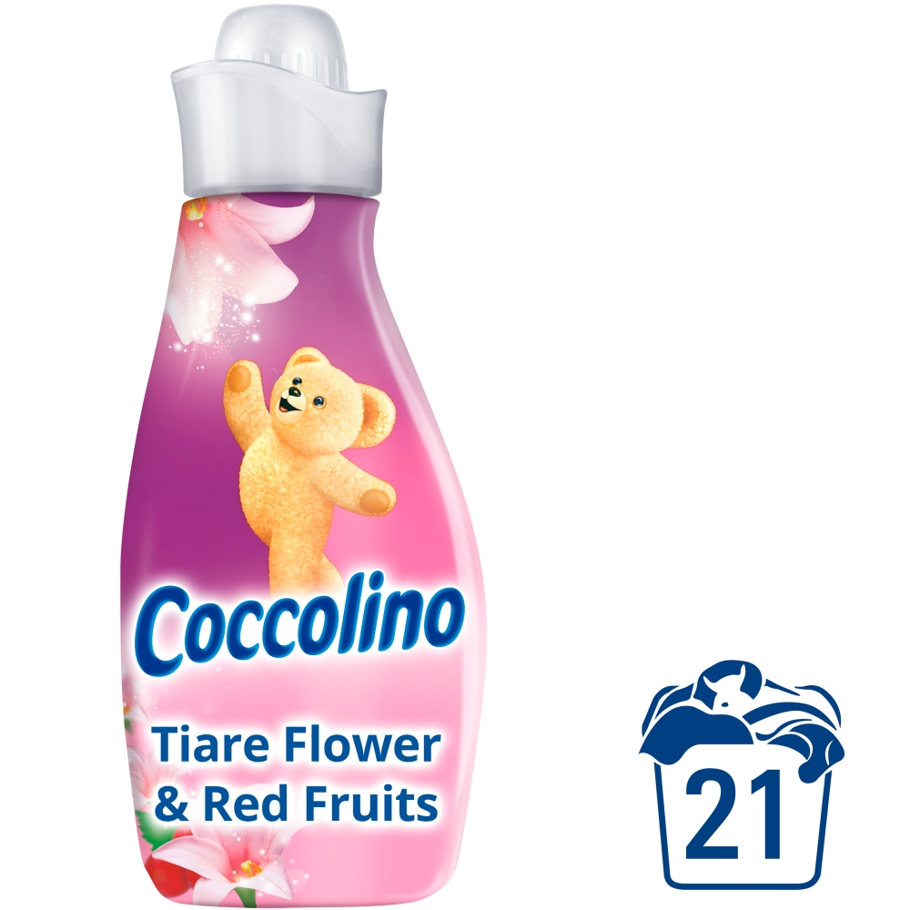 Fotografie Coccolino Creations aviváž Tiare flower & red fruits, 21 praní 750 ml