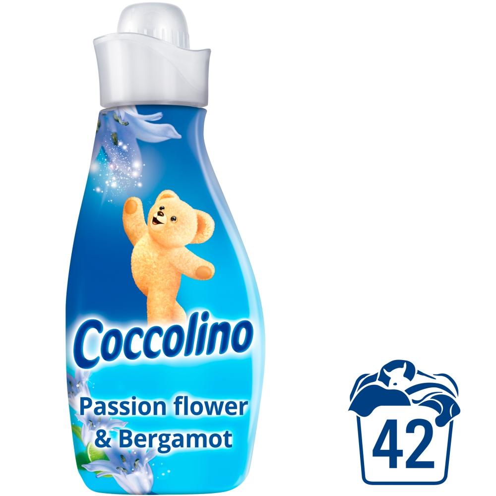 Coccolino Creations aviváž Passion flower & bergamot, 42 praní 1,5 l