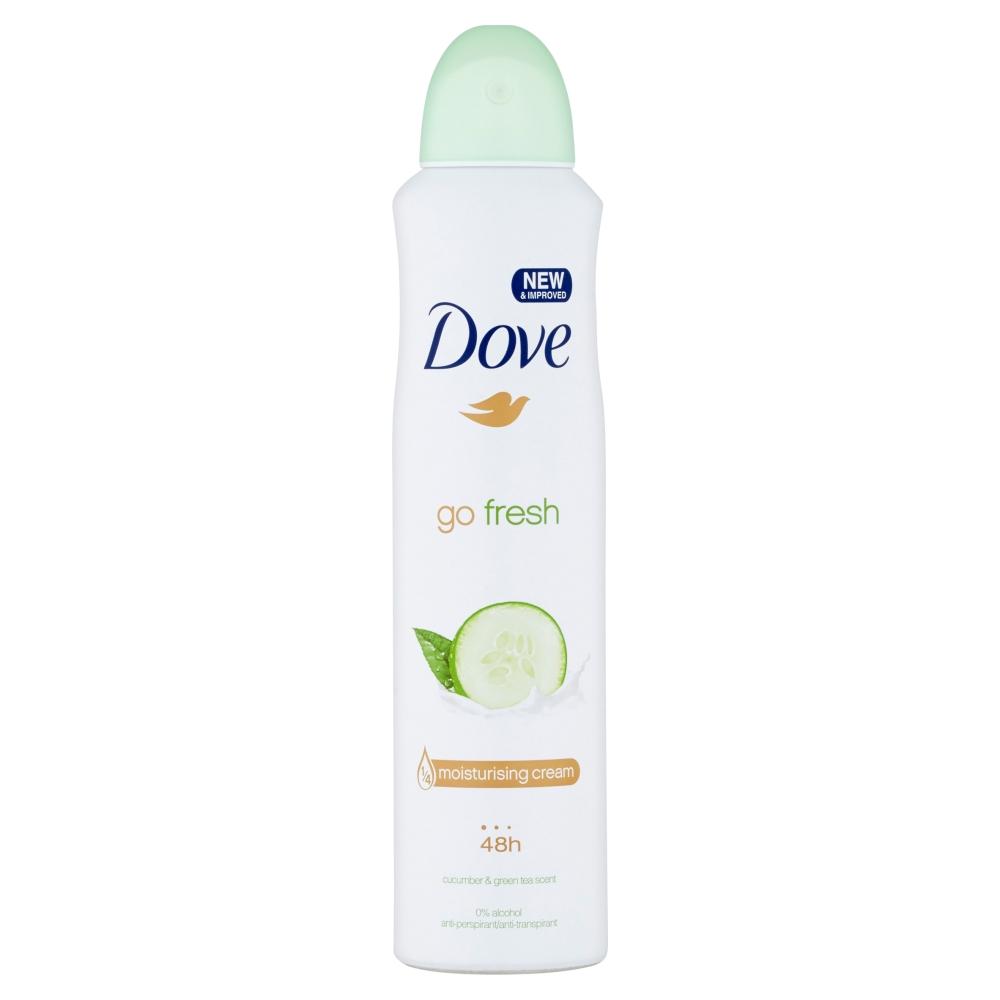 Dove Go Fresh Cucumber&Green Tea antiperspirant sprej 250 ml