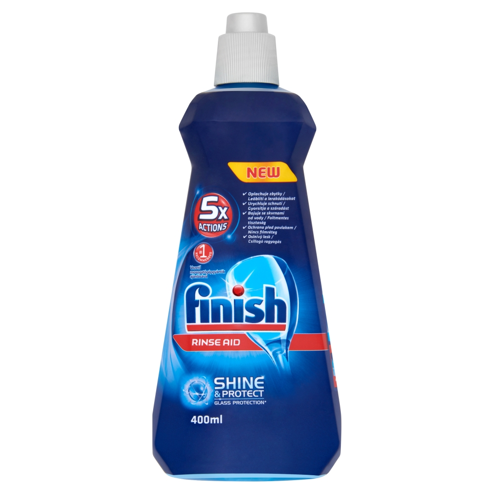 Finish Shine & Protect leštidlo do myčky 400 ml