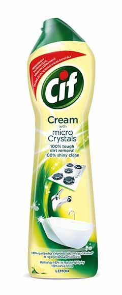 Cif Cream Lemon krémový čistící písek 500 ml