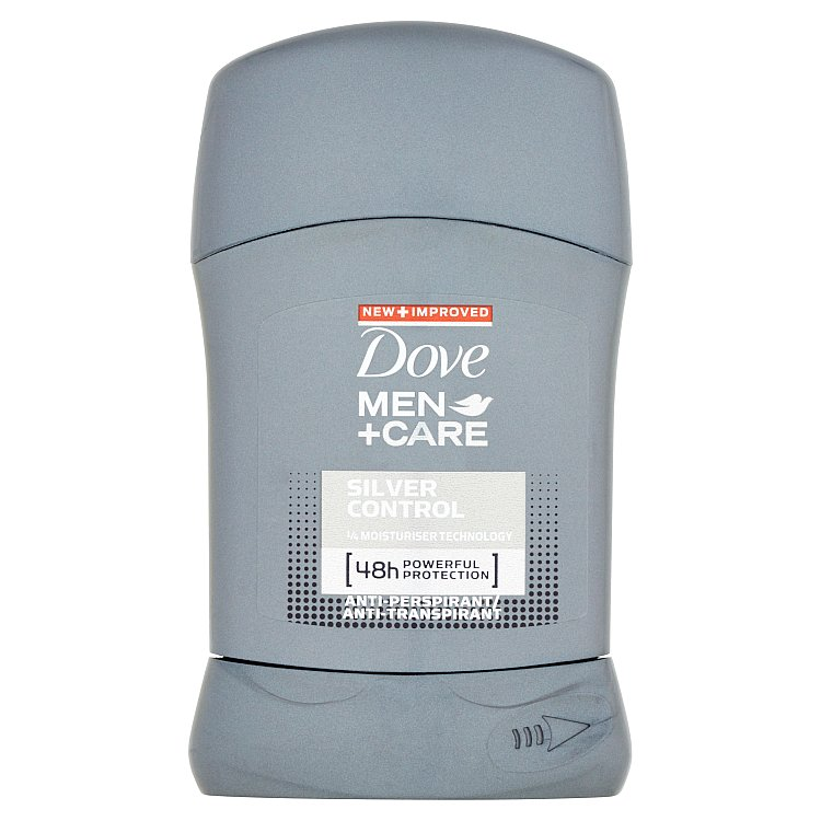 Dove Men+Care Silver Control tuhý antiperspirant 50 ml