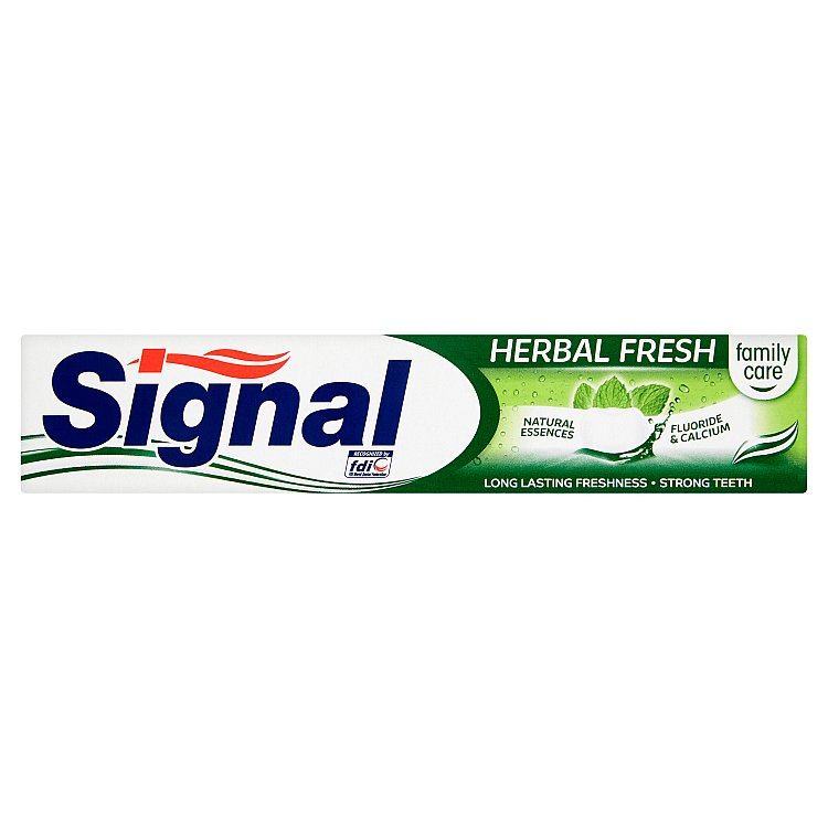 Fotografie SIGNAL Family Herbal Fresh 75ml zubní pasta
