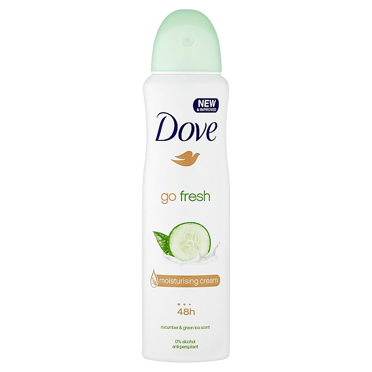 Dove Go Fresh antiperspirant sprej 150 ml