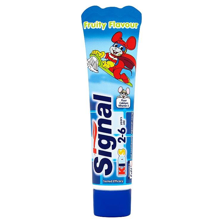 Fotografie Signal Dětská zubní pasta s ovocnou příchutí 50 ml