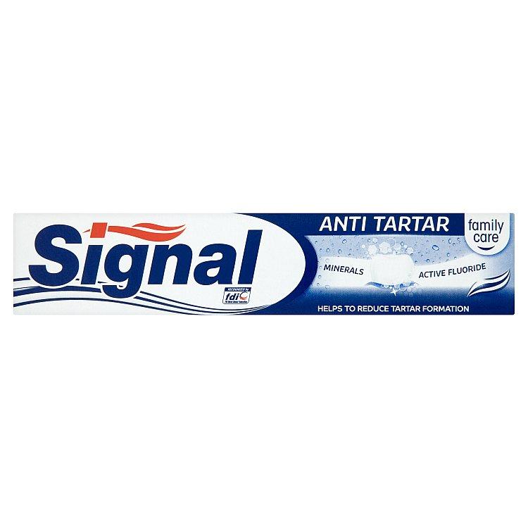 Fotografie Signal Anti-tartar minerals zubní pasta 75 ml