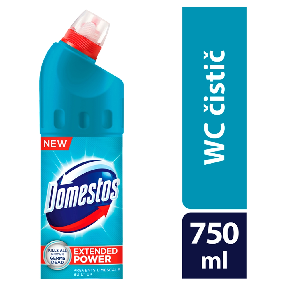 Domestos Extended Power dezinfekční a čistící přípravek Atlantic 750 ml