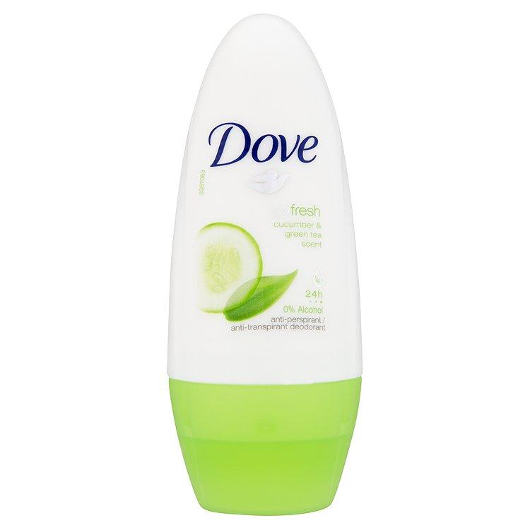 Fotografie Dove Go Fresh Kuličkový Antiperspirant s vůní Okurky&Zeleného čaje 50 ml