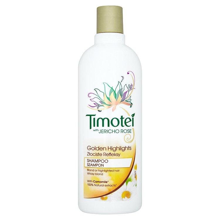 Timotei Zlaté Prameny šampon 400 ml