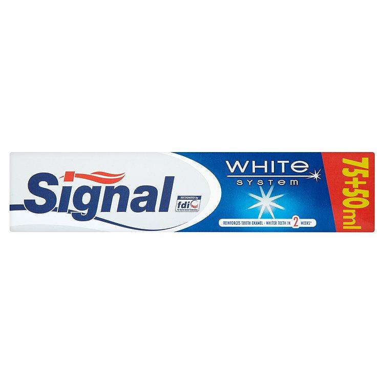 Signal White System Zubní pasta 125 ml