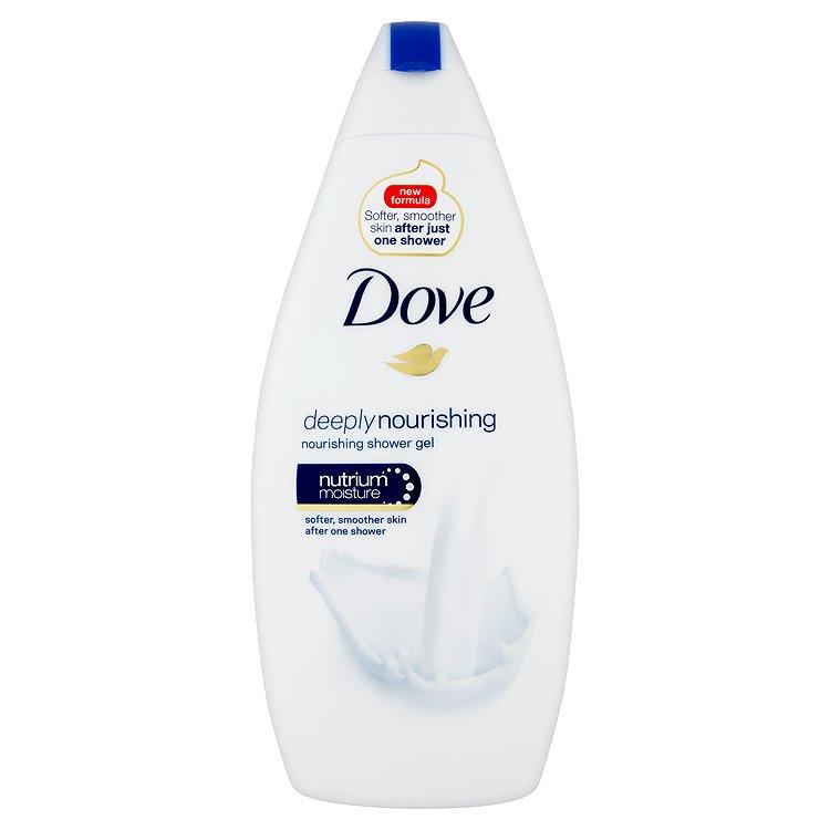 Dove Deeply Nourishing vyživující sprchový gel 500 ml