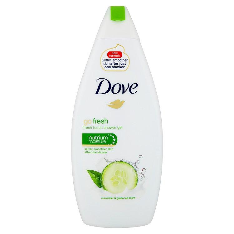 Fotografie Dove Sprchový gel s vůní okurky a zeleného čaje Go Fresh (Fresh Touch Shower Gel)