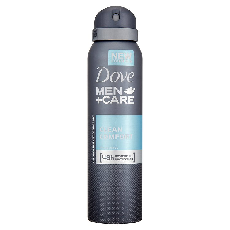 Dove Men+Care Clean Comfort antiperspirant sprej pro muže 150 ml