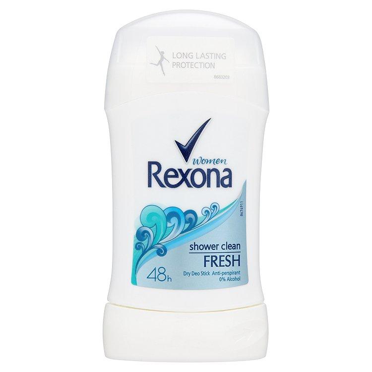 Rexona Women Fresh Shower Clean tuhý antiperspirant 40 ml