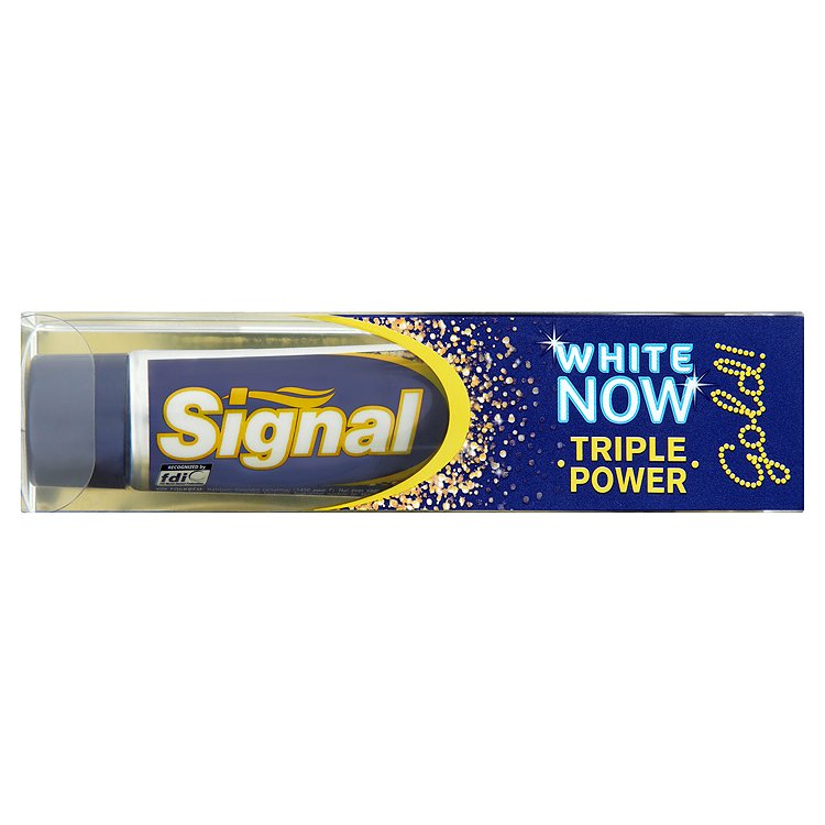 Signal White now gold zubní pasta 50 ml