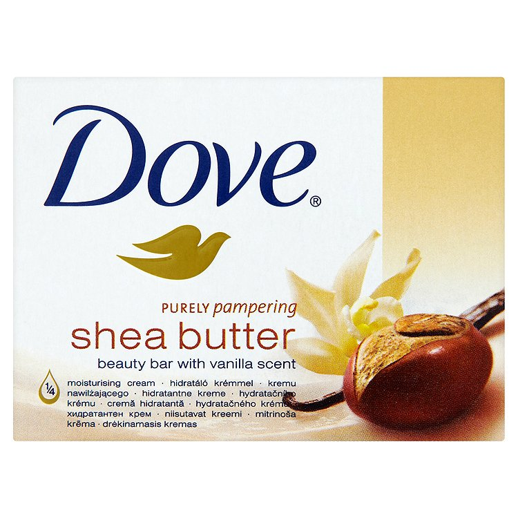 Dove Purely Pampering Shea Butter krémová tableta na mytí 100 g