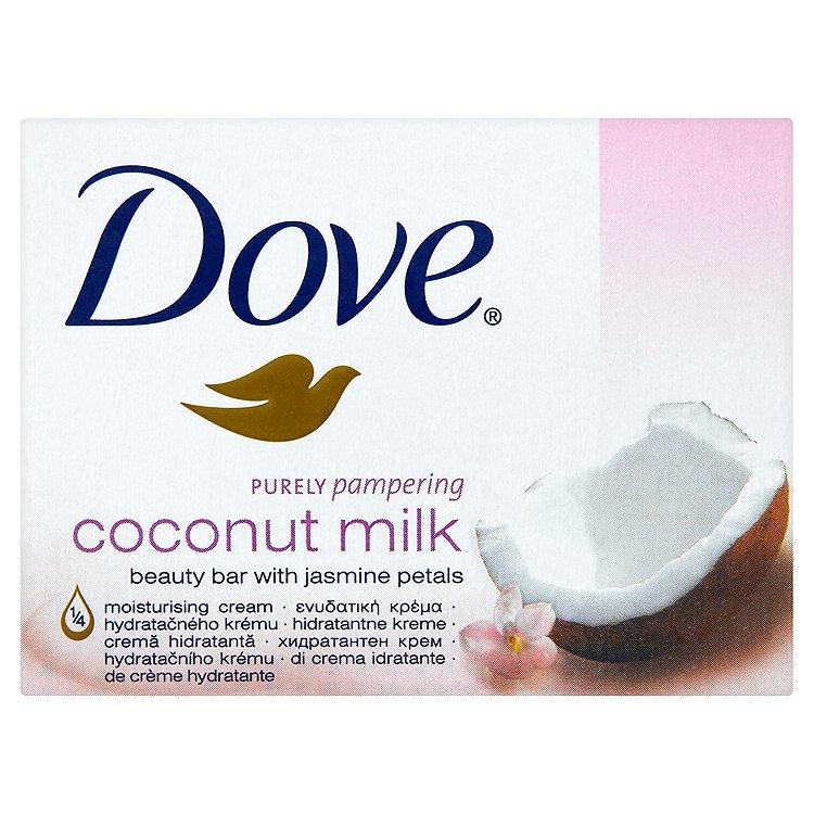 Dove Purely Pampering Coconut Milk krémová tableta na mytí 100 g