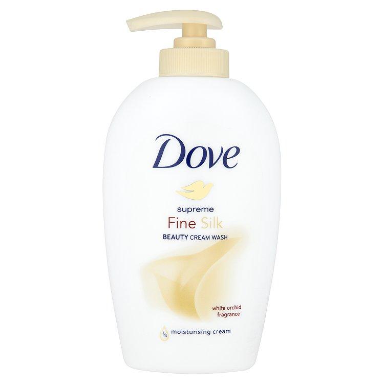 Dove Supreme Fine Silk hedvábné tekuté mýdlo 250 ml
