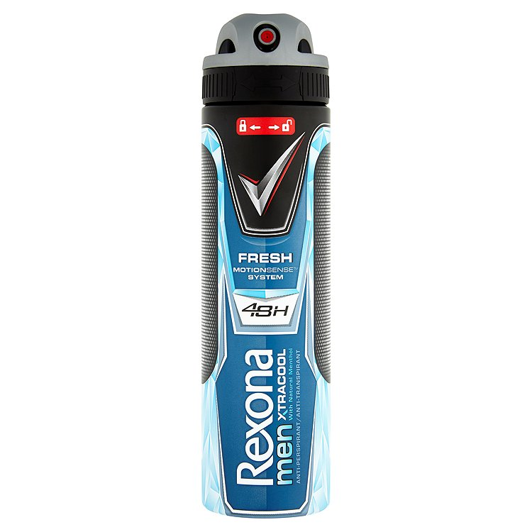 Fotografie Rexona Antiperspirant ve spreji Men Motionsense Xtra Cool 150 ml