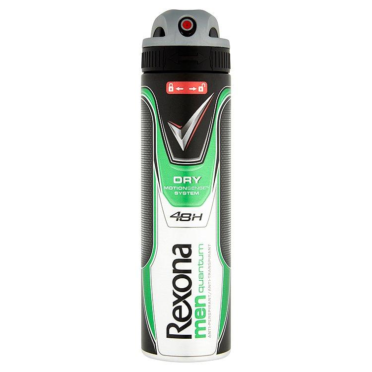 Rexona Quantum antiperspirant sprej pro muže 150 ml
