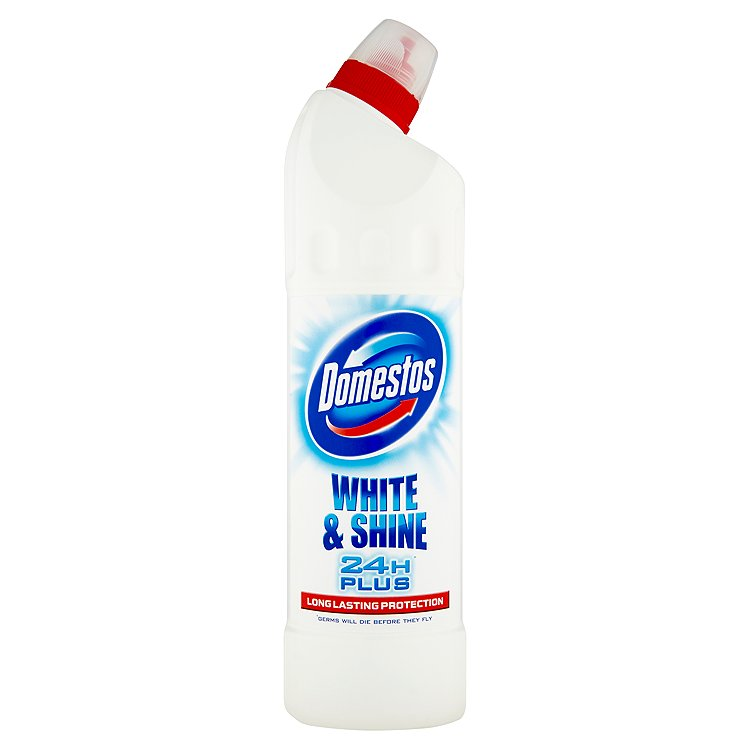 Domestos 24H Plus White & Shine desinfekční přípravek 750 ml