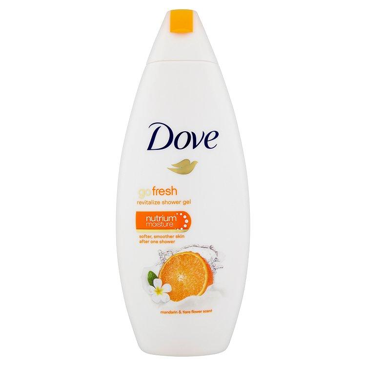 Dove Go Fresh vyživující sprchový gel s vůní Mandarinky&Květu Tiaré 250 ml