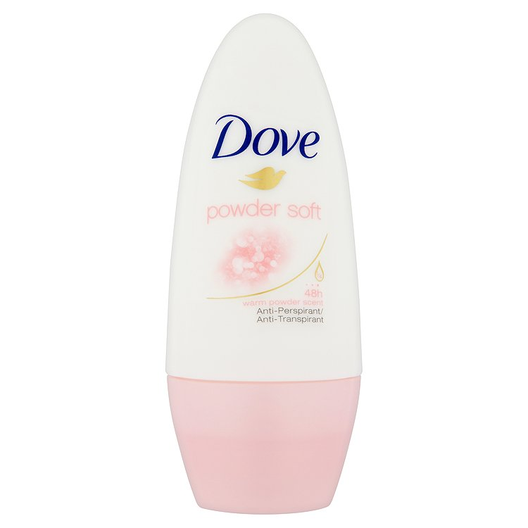 Dove Powder Soft kuličkový antiperspirant 50 ml